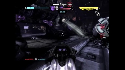 Transformers Wfc Conquest Gameplay