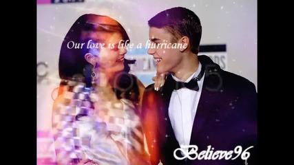 Our love is like a hurricane...