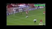 Всички голове на Пол Скоулс за Манчестър Юнайтед