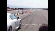 Audi R8 летище Сливен
