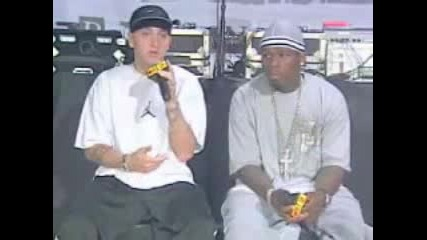 Eminem And 50 Cent Interview