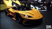 Невероятни автомобили на шоуто в Geneva 2016!