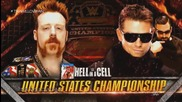 Wwe Hell In A Cell 2014 Match Card- Sheamus Vs The Miz
