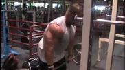 Jay Cutler - Тренира Гръб - 2010