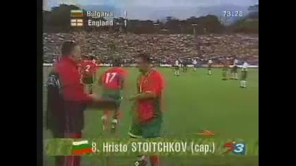 Христо Стоичков - велик българин !!