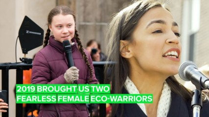 2019's Role Models: Greta Thunberg and Alexandria Ocasio-Cortez