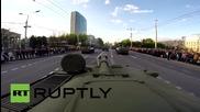 GoPro камера върху танк в Украйна