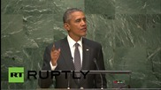 USA: Obama addresses poverty & world hunger at UN summit