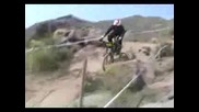 Race Down Hill Mountain Bike