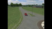Тест на Westhill в Live For Speed 0.6h