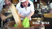 Японец с изумителна техника при правене на мочи