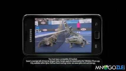Крокодили играят яко тенис