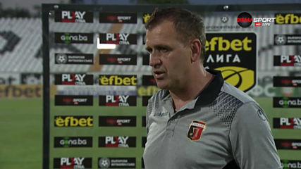 Бруно Акрапович: Свършихме си работата в този мач