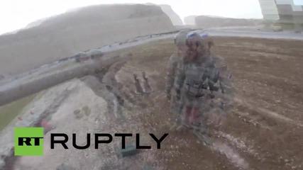 Йордания: GoPro показва как руските вийници се представят на военното състезание