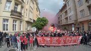 Шествие на феновете на ЦСКА