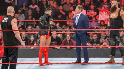 Finn Bálor stands up to Brock Lesnar, Braun Strowman and Mr. McMahon: Raw, Jan. 21, 2019
