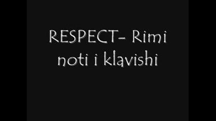 Respect - Rimi noti i klavishi