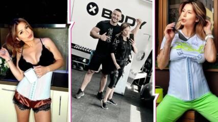 На война с килограмите: Младата майка Ася Капчикова с ново предизвикателство, ще маха 6 кг.