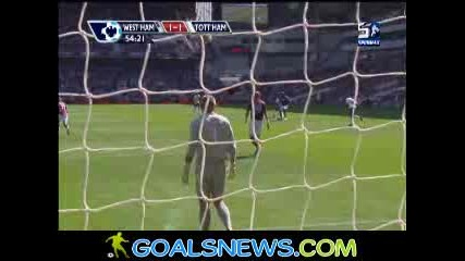 23/08/2009 West Ham - Tottenham 1:1 Defoe