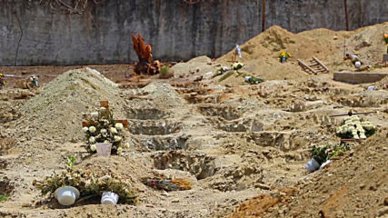 Mexico: 300 graves dug for coronavirus victims in Acapulco cemetery