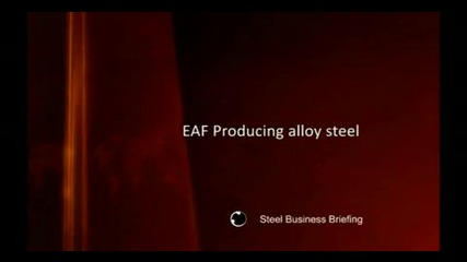 Sbb Eaf alloy steel production video (cemtas Burs