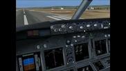 Flight Simulator 9 video record & rendering & fps test at Varna