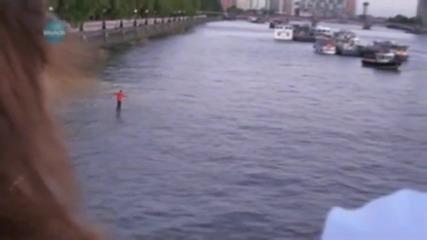 Невероятно!!! Dynamo ходи по вода