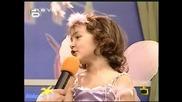 Бате Енчо се нерви на малко момиченце-Господари на ефира 19.06.08 *HQ*