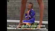Най - малкия човек на света!едва 72см!