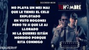 Tu Hombre - Farruko Ft Benny Benni ( Letra Video Liryc New 2015 )