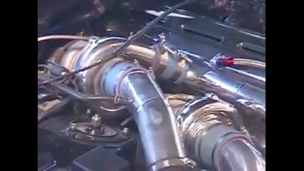 Звукът на Toyota Supra 1000hp