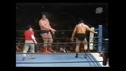 New Japan Pro Wrestling 1974: Андре Гиганта срещу Сеиджи Сакагучи