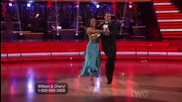 William Levy & Cheryl Burke - Quickstep Week 2 (dancing With The Stars S14 E02 Us)