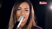 Leona Lewis Trouble (acoustic) - Live at The Sun_s Biz Sessi