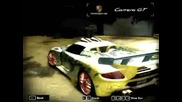 Nfs Most wanted My career cars