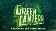 Green Lantern Tas - Герои и озвучители