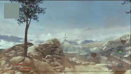 Mw2 Crazy Across Map Throwing Knife Kill
