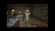 #5 minecraft [как се прави Xp Grainder] survival Със vencopenco и theddy