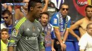 Кристиано Роналдо вилня в Барселона с 5 гола - Espanyol 0:6 Real Madrid (12.09.15)