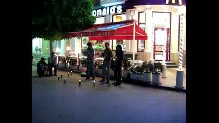 Откачена Група Музиканти Във Варна