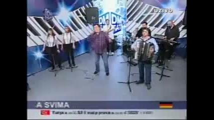 Halid Beslic - Prvi poljubac - (Live) - Sto Da Ne Show - (TV DM)