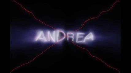 Андреа - Лого направено от мен