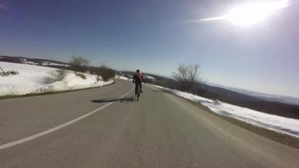 3 дена свобода на колела - 185км. от София до Перущица през Средна гора - 1 част