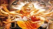 Симха Грива - Кришна играет на флейте
