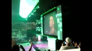 Me at Wwe Raw 6 - 8 - 09 Triple H Returns