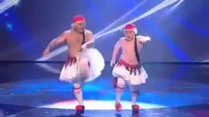 Stavros Flatley Greek Dancers - Britain s Got Talent 2009 - Semi - Final 3