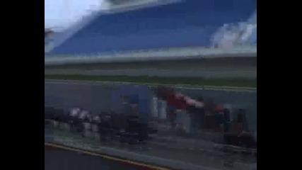 Смарт с двигател от пистарка ! Drag race