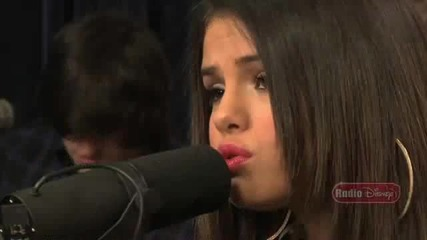 Selena Gomez & The Scene - Who Says - Live Acoustic Performance - Radio Disney