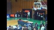 Посрещане На Волейболистите В София