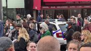 France: Hundreds of people wait outside Paris' Gare du Nord following bomb threat evacuation